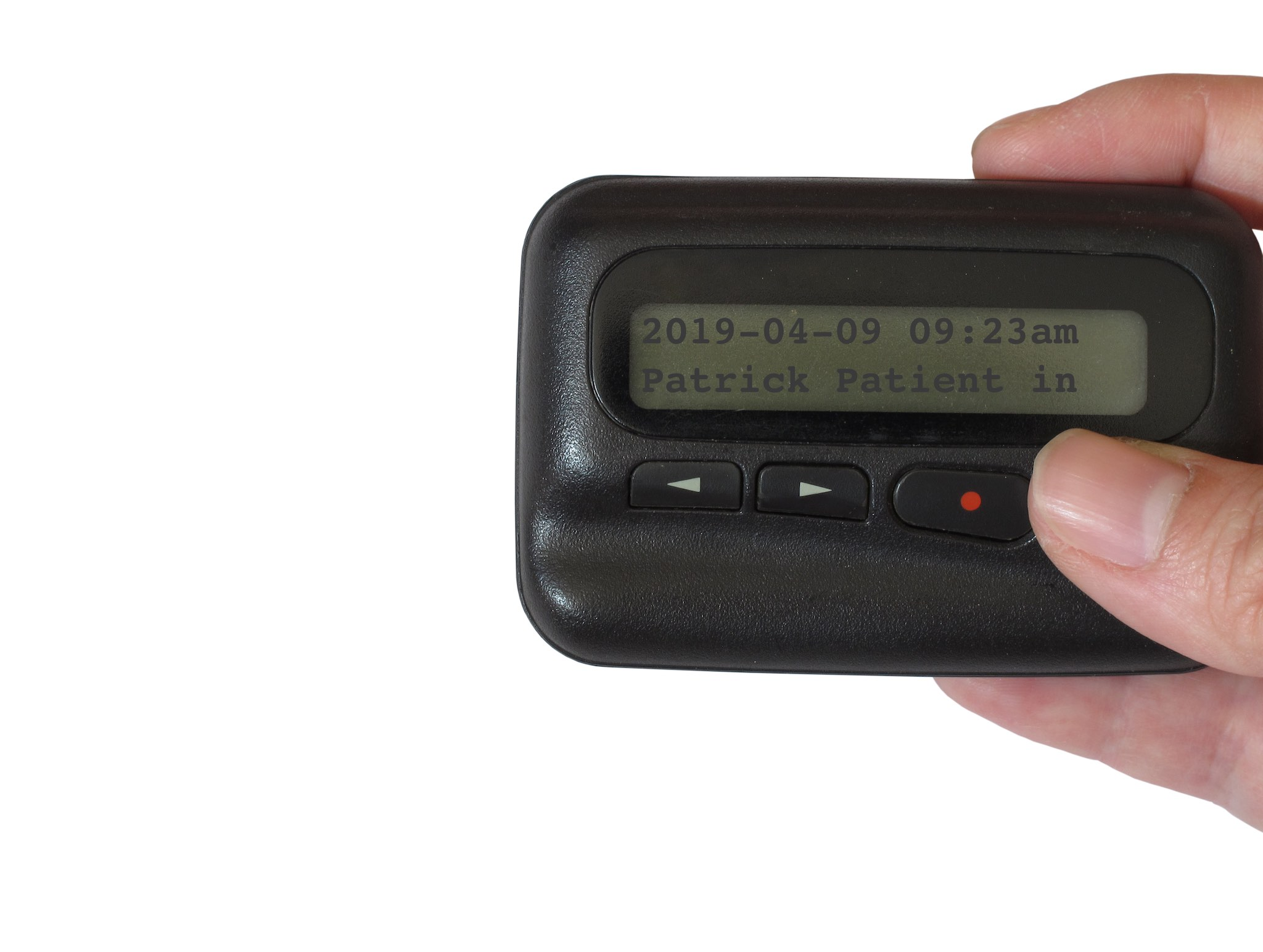 Clunky old pager